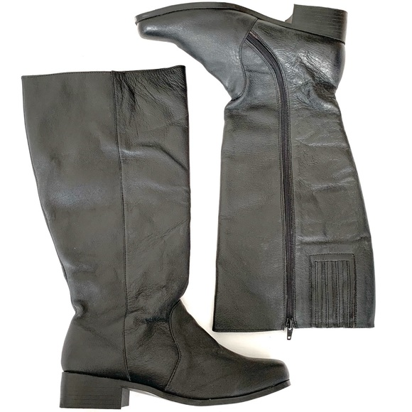 step up comfort Shoes - Step Up Comfort leather riding boots